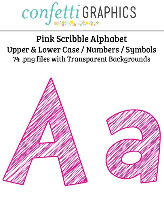 Lowercase I In Pink