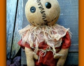 Trick or Treat Primitive Doll ePattern PDF Instant Download--Fall-Halloween-Hafair Team