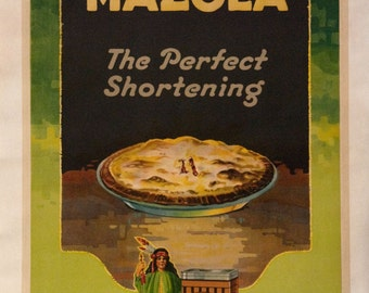 Original Mazola Cherry Pie Poster