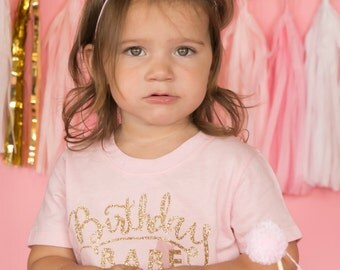 Mini Glittery Girl Crown Headband || Baby, Birthday || Cake Smash || 1st Birthday || Baby Girl Birthday