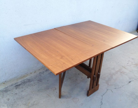 Mid Century Modern Dining Table Drop Leaf Dining Table Drop