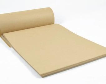 KRAFT PAPER PAD - A4 80gsm 50 Page Kraft Paper Pad (21cm x 29.7cm)