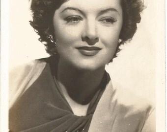 Myrna Loy, Eleanor Parker, & Helen Trent (Julie Stevens) Vintage Postcards