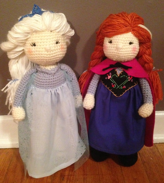 Crocheted Amigurumi Frozen Queen Elsa and by heybanjopants ...