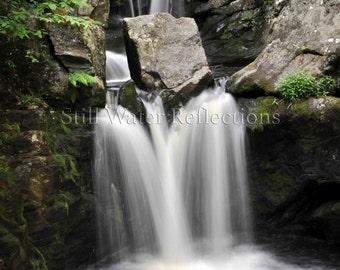 Wall-Ready Waterfall Photo Print Mounted Connecticut
