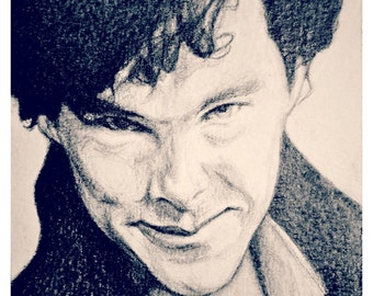 Sherlock - art print