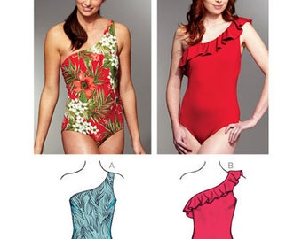 Sewing Pattern - Womens Pattern, Swimsuit Pattern, Two Views,  - Kwik Sew Patterns #K3780