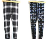 Basic Leggings PDF sewing pattern One-piece leg perfect for girls and boys (workout leggings, Long Johns, pajamas)