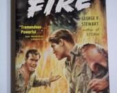 Fire by George R. Stewart Bantam #802 1950 Vintage Paperback Book