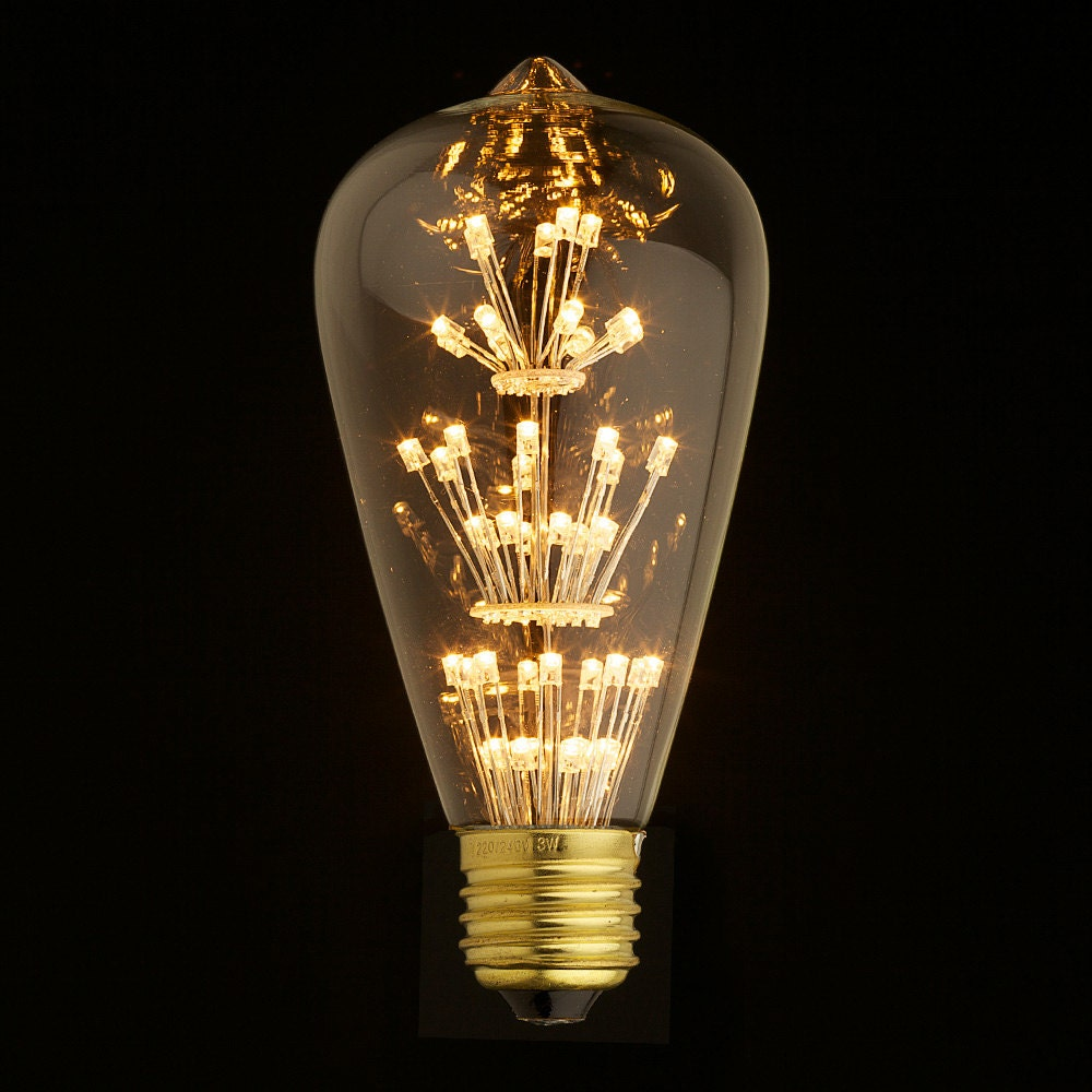 e27 led edison fireworks light bulb 110v 220v by lightwithshade. Black Bedroom Furniture Sets. Home Design Ideas
