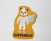 Ash DIFFERENT sticker