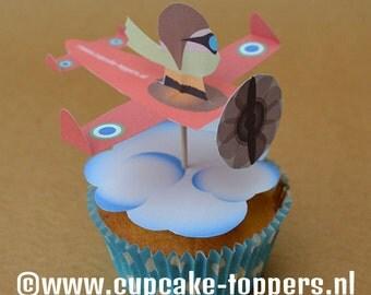 Cupcake Topper Pilot