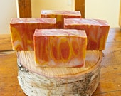 Sunset Sky Tallow Soap, Scented Soap, Handmade Soap, Tallow Soap, Handcrafted Soap, Handmade Tallow Soap, Oakmoss Amber Soap,