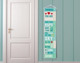 You Are Loved - Personalized Growth Chart