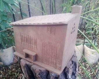 ceramic piggy bank handmade home