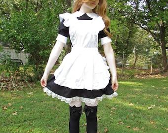 Masaki White Maid Apron