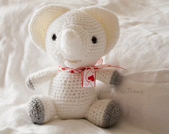 Sweet Little Amigurumi Elephant | Made to Order
