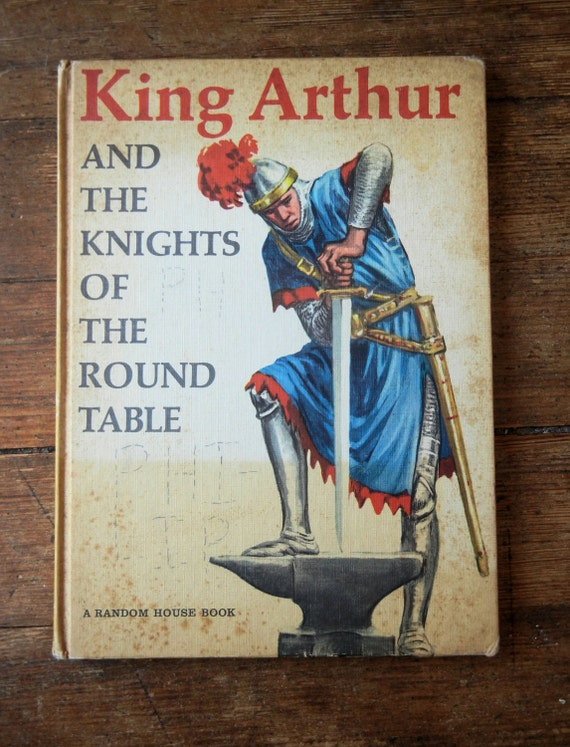 1954 king arthur and the knights of the round table hard cover for 12 knights of the round table and their characteristics