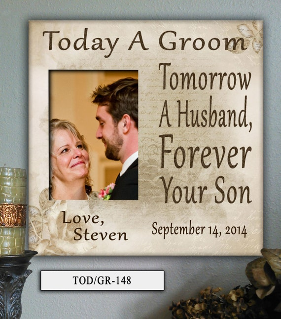 Memorable Wedding Gifts For Parents : TOD/GR Parents Wedding Gift, Parents of the Groom, Father of the Groom ...