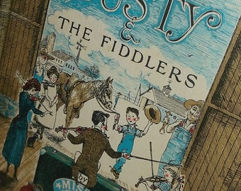 1962 Dusty & The Fiddlers by Miska Miles-Vintage Childrens Books