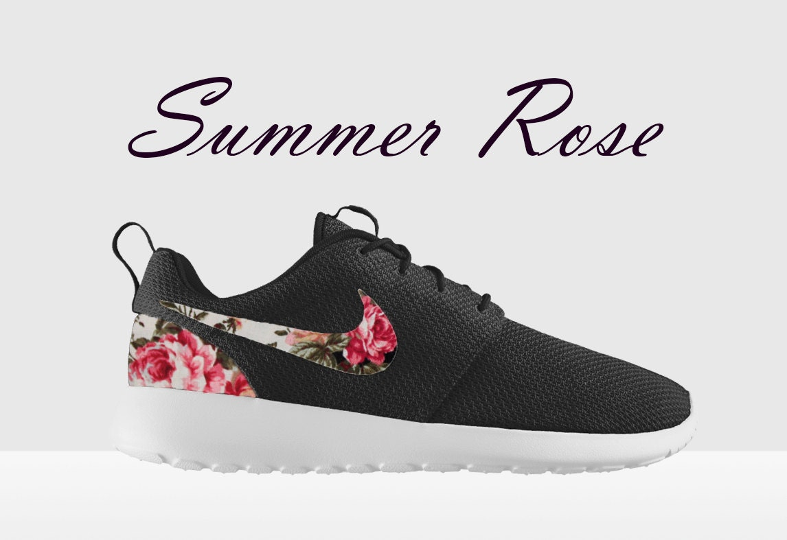 Buy Nike Roshe Floral - Running Shoes Purple Green White Special Offers Nike Roshe Run Men S Olympic Nike Discount
