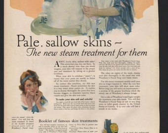 Original Ladies Home Journal ad for Woodbury Soap, 1919 - beauty106