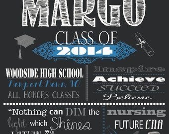 "Graduation Poster 18x24"" Digital Download"