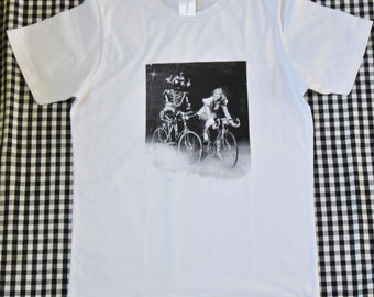 Tshirt // Bike Robot // Size M