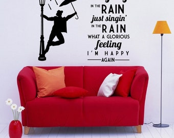 singin in the rain etsy. Black Bedroom Furniture Sets. Home Design Ideas