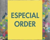 ESPECIAL ORDER - for Sarah Bester - costum colors of SET 3 Mix Hipster