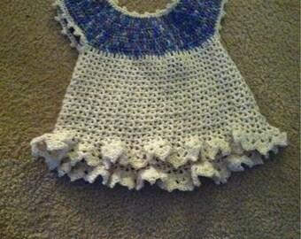 Crocheted Baby Sweetie Dress