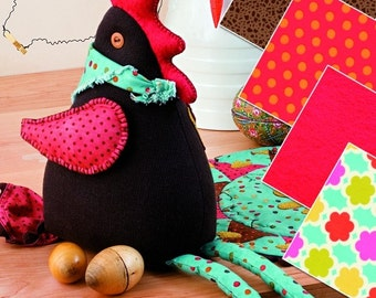 Clarence The Chicken Sewing Pattern (802602)