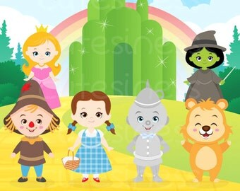 Wizard of Oz Digital Clipart, Wizard of Oz Clipart