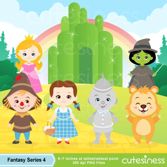 Wizard of Oz Digital Clipart Wizard of Oz Clipart