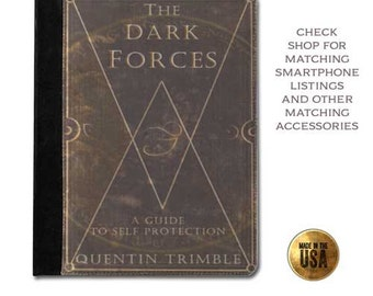Dark Forces book cover handbook tablet case (ipad 2 3 4, air, mini, Kindle Fire, paperwhite)