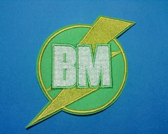 Iron on Sew on Patch:  Best Man BM or Maid of Honor MoH