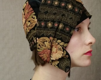 Incredible Embroidered Authentic Flapper Cloche. Layaway welcome. Free Shipping!