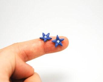 Balloon Flower earrings