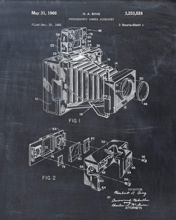 Camera Patent Poster