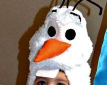Snowman Costume Hat Pattern Toddler S, M, L