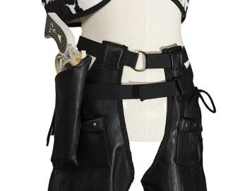 Black cowboy costume - Picanoc