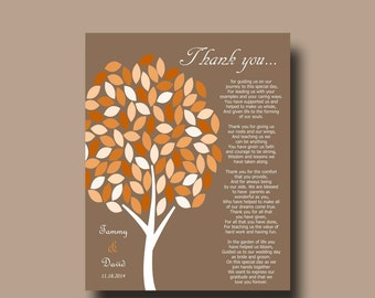 Wedding Thank You Gift For Mom : ... Gift, Wedding Day Gifts for Our Parents, Thank You Poem for Mom and