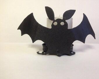 Metal Bat Candle Holder