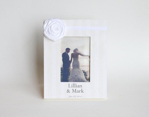 Wedding Shower Gift For Brother : Custom Wedding Frame Personalized Gift Ideas Bridal Shower Engagement ...