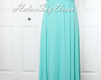 Infinity Dress Convertible Turquoise green Bridesmaid Dress Wrap Formal Evening Dress