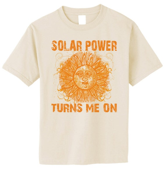 Solar Power TShirt