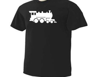 Train Engine Railway Railroad Conductor T-Shirt