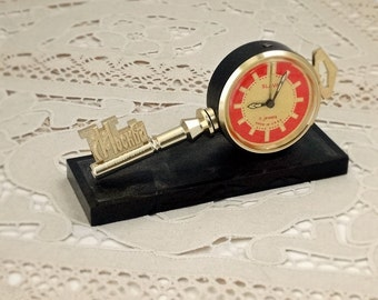 Vintage, Watch, Clock, Retro, Old, Soviet, Russian, Mechanical, Alarm, Gift, USSR, Movement, Moscow, Key