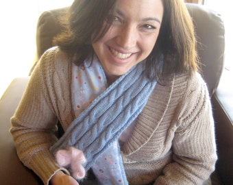 Bobbi's Birthday Scarf PDF pattern