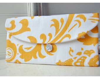 Yellow Cluch, White Clutch, Mustard Clutch, Floral Clutch, Spring Wedding Bridal Clutch, Bridesmaid Gift, Bridesmaid Clutch set of 6